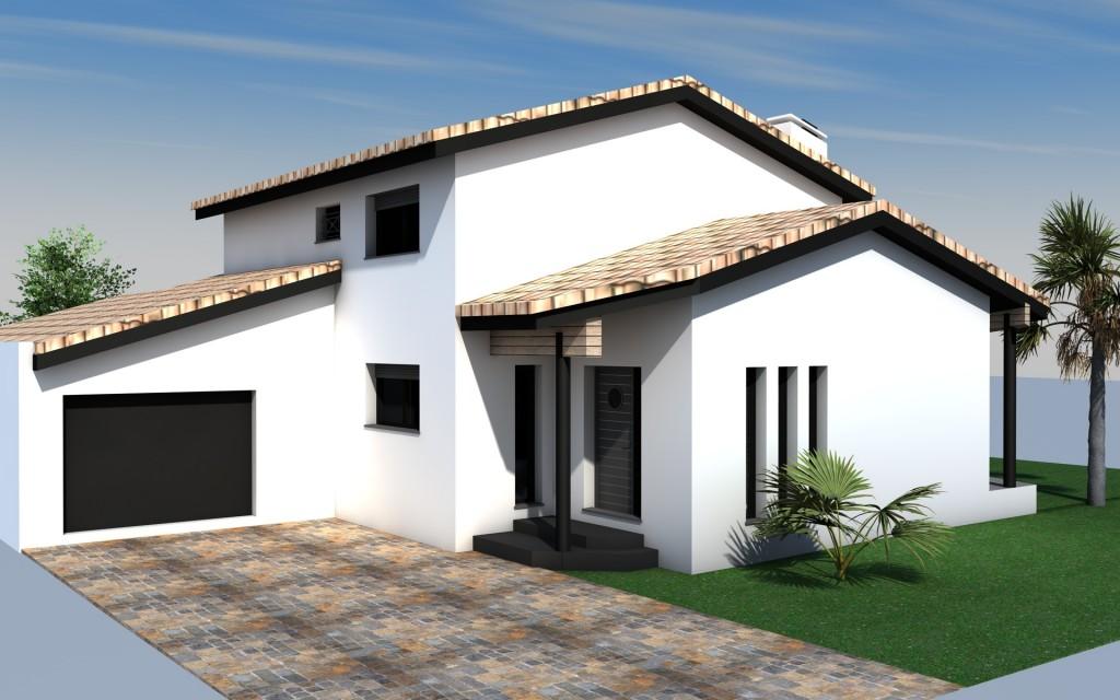 constructeur maison contemporaine perpignan