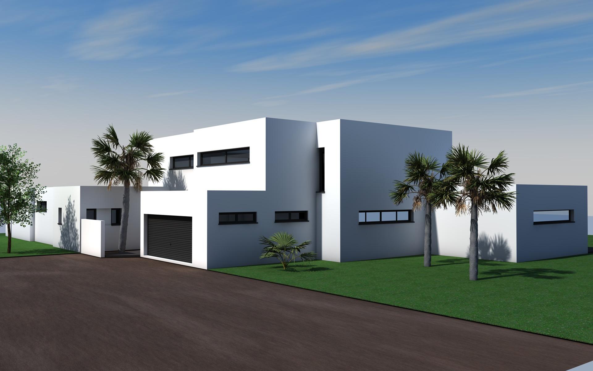 Constructeur maison individuelle contemporaine maison for Constructeur maison individuelle contemporaine